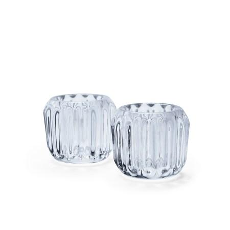 Morso Gears Tealight Holder in Crystal