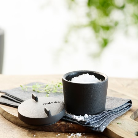 Morso cast iron salt pot