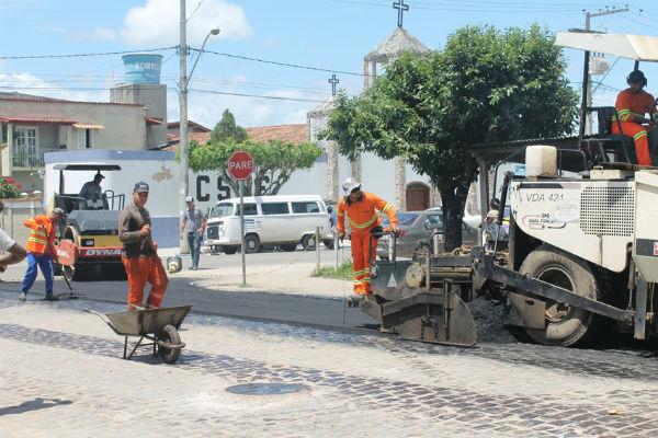 Resultado de imagem para asfalto na princesa isabel em itamaraju