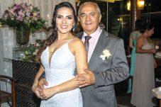 Jadilson Moraes com a filha Zeila