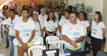 Delegados na conferencia de saúde de caravelas