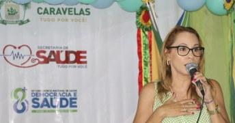 Lizandra Amim (diretora geral da Policlínica de Teixeira de Freitas)