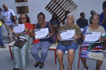 beneficiados pelo programa de regularização fundiária