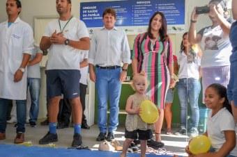 Agosto Dourado: Estímulo ao aleitamento materno. Fotos Ascom