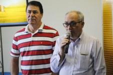 Artur Teixeira, presidente, falou ao lado de demais membros da diretoria da Coopmista