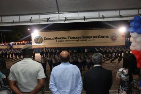 Cerimônia de formatura dos alunos do 9º ano do Colégio Francisco Henrique dos Santos (Rancho Alegre) (8)