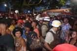 Policia Militar atuando para garantir a segurança do Carnabarra 2020