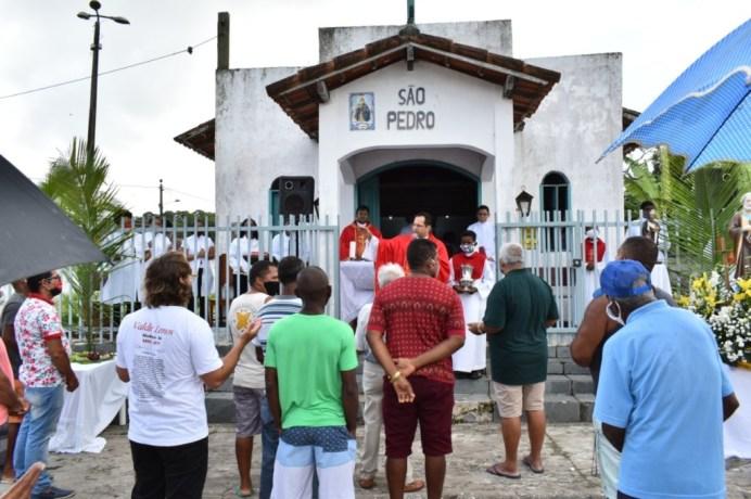 Missa campal na Praça São Pedro de Alcobaça (2)