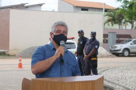 O presidente da Câmara de Teixeira de Freitas, Ronaldo Cordeiro