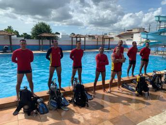 18 GBM Teixeira de Freitas treinamento combate a incendio atividades de mergulho autonomo resgate extremo sul da bahia (12)