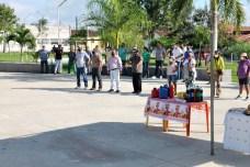 lajedao prefeito tonzinho limpeza publica prefeitura gari entrega de uniforme caminhao tele entulho compactador (21)
