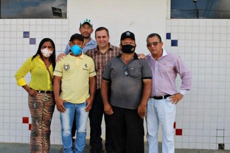 lajedao prefeito tonzinho limpeza publica prefeitura gari entrega de uniforme caminhao tele entulho compactador (29)