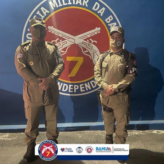 Eunápolis: 7ª CIPM recebe visita do comandante do CPRS