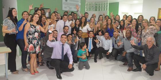 Em um clima permeado por amizade e cumplicidade que a chapa 'Juntos Somos Mais' foi registrada na tarde de quarta-feira, 21 de outubro, com a participação espontânea de mais de 50 advogados