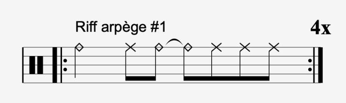 riff arpège #1
