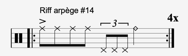riff arpège #14