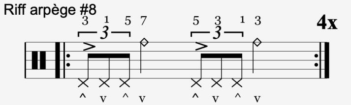 riff arpège #8