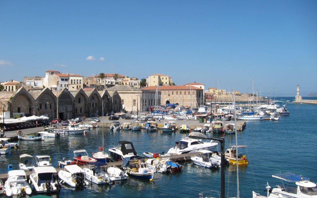 Viaje a Creta y a una boda griega