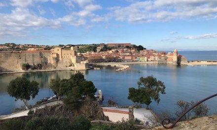 Un día en Colliure en el sur de Francia con niños