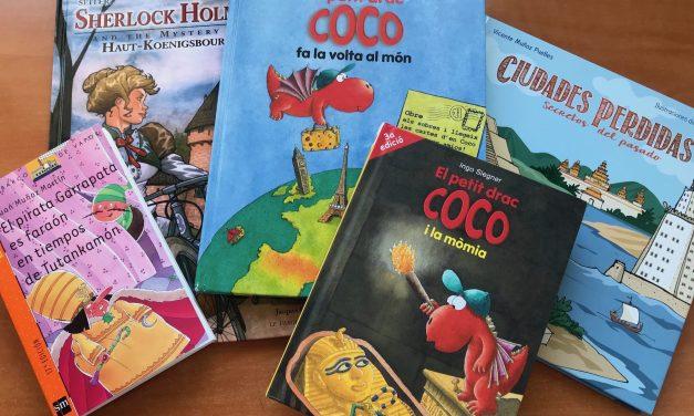 Libros y cuentos sobre viajes para niños