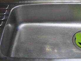 キッチンシンク洗浄