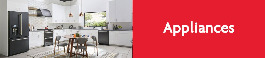 Home and kitchen appliances for your new Osoyoos home.