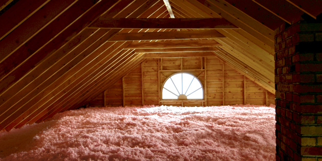 Proper home insulation in Osoyoos.
