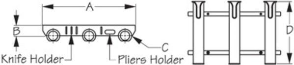Three Pole Rod Holder 2