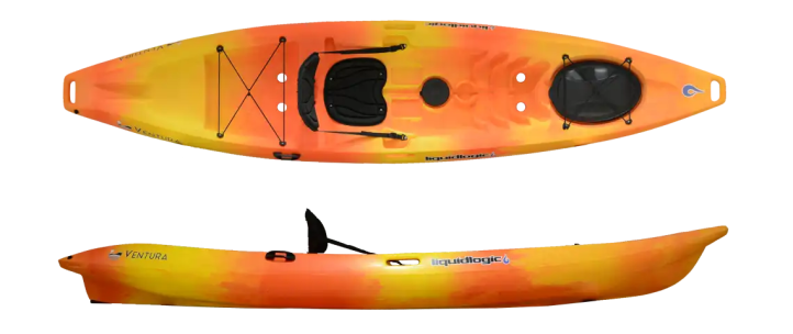 Ventura single kayak sunrise