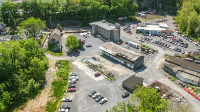 Building DroParking Lot Drone Photography by Osprey Perspectives ne Photography by Osprey Perspectives