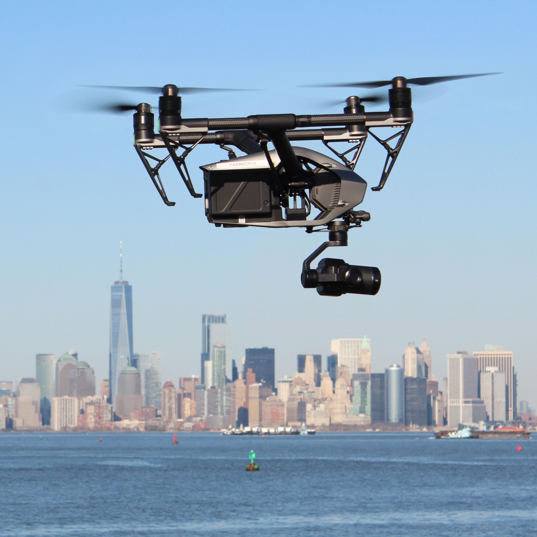 nyc drone photo