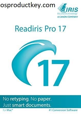 Readiris Pro 17.1.4 Serial Key + Crack Latest Version [2021]