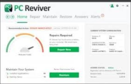 Pc Reviver 3.7.0.26 Crack With License Key Latest Full Version exe