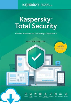 Kaspersky Total Security Key With Activation Code (2021)