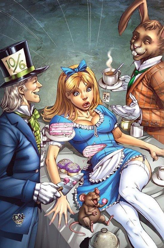 Alice no país das maravilhas de um jeito que você nunca viu