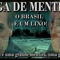 O BRASIL É UM LIXO
