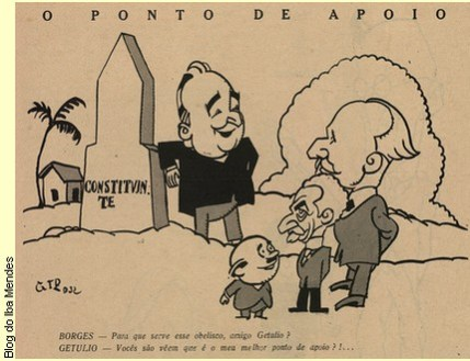 1 - charges politicas antigas do brasil - blog do iba mendes 1932
