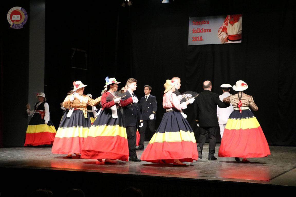 Smotra koreografiranog i izvornog folklora 2018-2