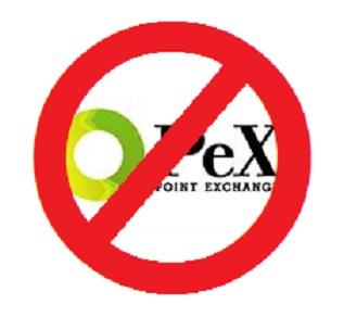PeX停止ロゴ