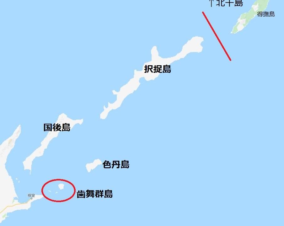 北方領土地図01