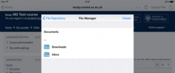 FileManagerInbox