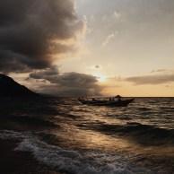 Sonnenuntergang in Puerto Galera
