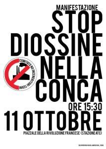 Terni, 11 Ottobre 2014, ore 15:30, STOP DIOSSINE NELLA CONCA