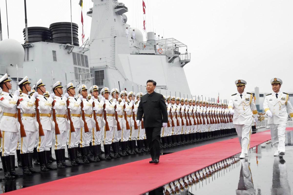 cina cinese marina militare