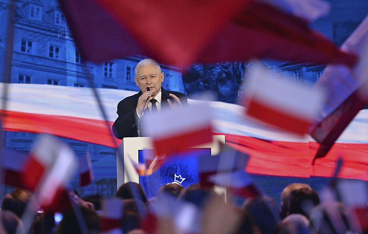 Polonia Kaczynski Polexit