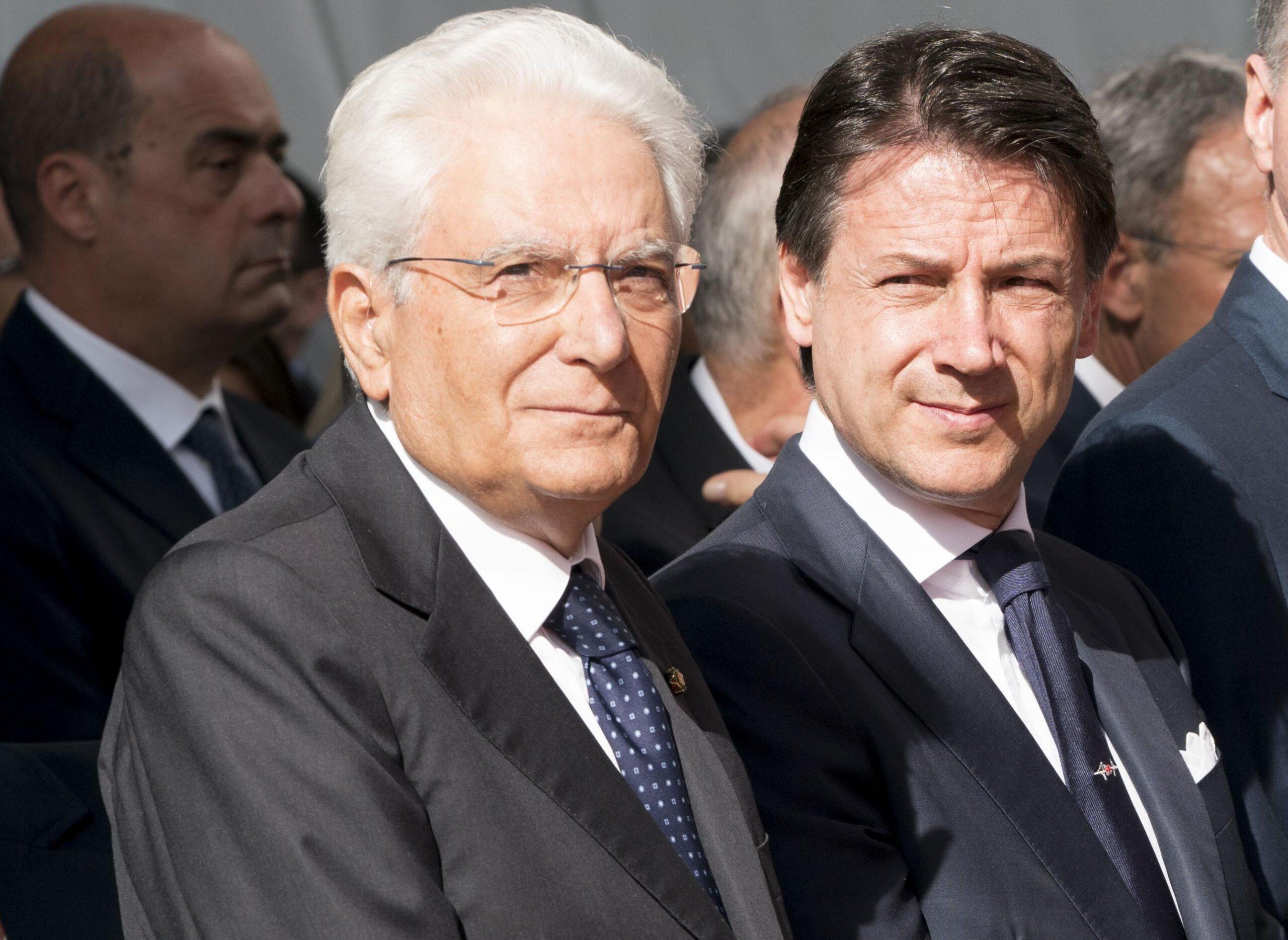 Mattarella Conte