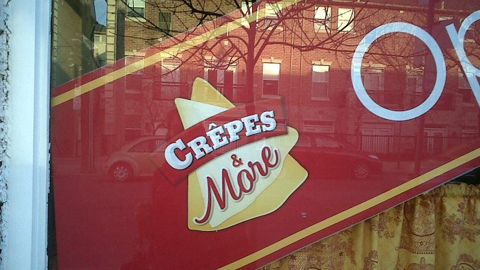 Crepes and More Sign