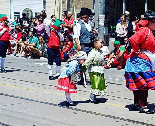 Smiles at today's #portugalparade #parade #toronto