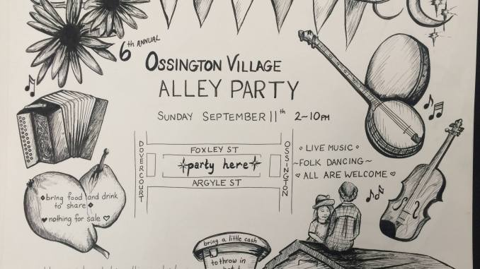 Ossington Alleyway Party