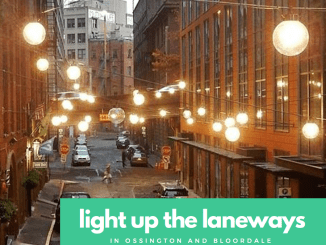 Light Up The Laneways Ossington